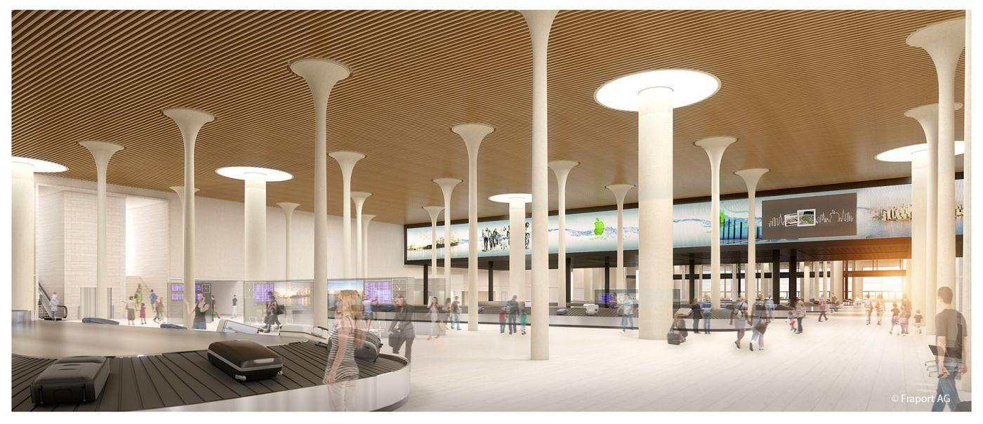NBT3_Neubau Terminal 3_Frankfurt Copyright Fraport_096_02_gepaeckausgabe_c11_schwarz_72_02