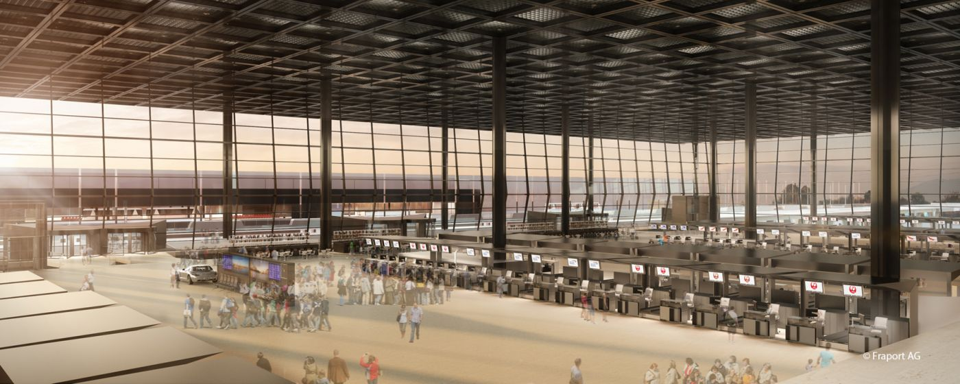 NBT3_Neubau Terminal 3_Frankfurt_Copyright_Fraport_096_08_checkin_c7_72_03